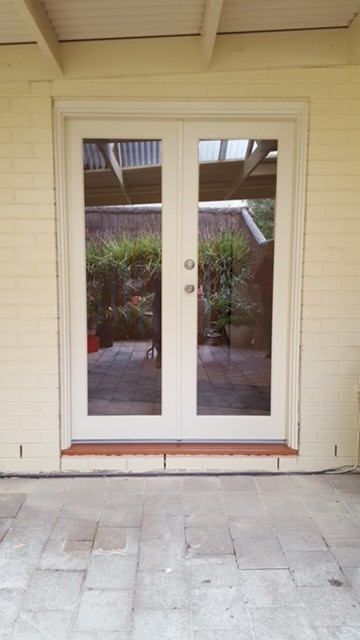 After timber door replacement